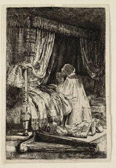 Mijn favoriete Rembrandt in Teylers Museum: David in gebed (B41)