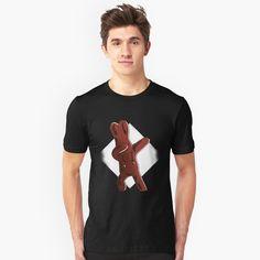'Dabbing Chocolate Bunny' T-Shirt by SchoomDesigns Chocolate Bunny, Funny Graphic Tees, Dabbing, Tshirt Colors, Female Models, Funny Tshirts, Heather Grey, Classic T Shirts, Shirt Designs