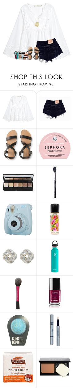 """shopping haul in d pt. 2!"" by legitmaddywill ❤ liked on Polyvore featuring Aéropostale, Sephora Collection, e.l.f., Sigma, Fuji, MAC Cosmetics, Nina B, Hydro Flask, Chanel and Christian Dior"