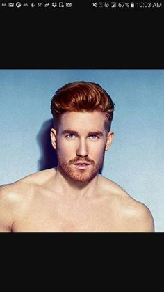 Guy with Red Hair Hot Ginger Men, Ginger Beard, Ginger Hair, Gorgeous Redhead, Beautiful Men, Red Hair Men, Guy Hair, Red Freckles, Redhead Men