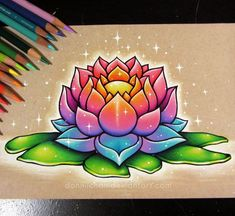 I finished my lotus drawing, yay! 🙌 This piece is up for sale on my etsy (link in bio), along with a couple other doodles~ 💖💜💙💚💛😙 Lotus Drawing, Painting & Drawing, Pencil Drawings, Art Drawings, Horse Drawings, Animal Drawings, Desenho New School, Dibujos Tumblr A Color, Cartoon Tattoos