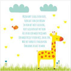 Lief liedje van Claudia de Breij voor op je #geboortekaartje. #birthannouncement #dieren #wolkjes #zwangerschap #claudiadebreij #geboortegedichtje #geboortetekstje #liedtekst