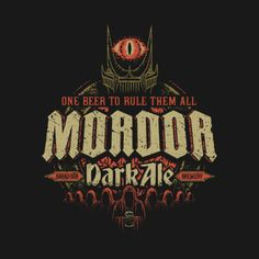 The Brews of Middle Earth: Mordor Dark Ale - Cory Freeman
