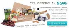 Escape Monthly - Destination Inspired Monthly Deliveries