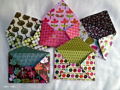 How to make envelopes from scrapbook paper
