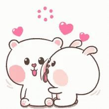 The perfect Happy Cute Love Animated GIF for your conversation. Discover and Share the best GIFs on Tenor. Love You Gif, Cute Love Gif, Cute Love Pictures, Cute Love Songs, Cute Cartoon Images, Cartoon Gifs, Cute Cartoon Wallpapers, Cute Images, Kiss Animated Gif