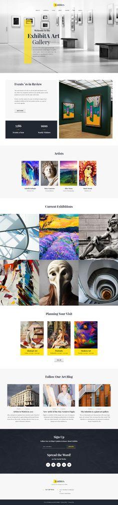 Art Museum WordPress Theme - https://www.templatemonster.com/wordpress-themes/62373.html