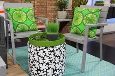 The Marilyn Denis Show | Patio Furniture for Small Spaces