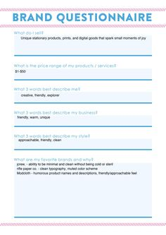 ClientLogoDesignQuestionnaireMelissaBelflowerCreative