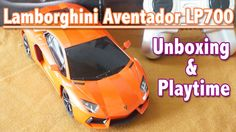 Lamborghini Aventador LP700: Toy Car Unboxing and Playtime   Toys For Kids