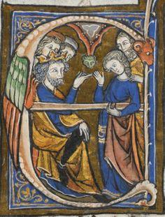 Lausanne, Bibliothèque Cantonale et Universitaire de Lausanne, U 964: Biblia Porta · France · fin du XIIIe siècle Langue:Latin (http://www.e-codices.unifr.ch/fr/list/one/bcul/U0964)