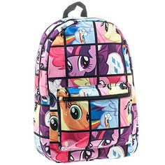 My Little Pony Tile Print Backpack *** You can get additional details at the image link.
