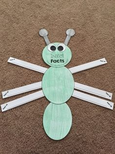 Insect Facts writing creativity! Great for Kindergarten and 1st grade learners.