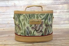 1980s Train Case | 1980s Carry On | American Tourister | Vintage Handbag | Vintage Purse | Vintage Tapestry Luggage | tapestry train case