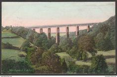 Menheniot Viaduct, near Liskeard, Cornwall, 1905 - Frith's Postcard