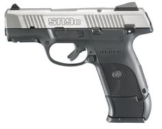 Ruger SR9C Compact. Yes girls I'll be getting a holster for this too ;) knife on one thigh & gun on my other hip. Bring on the bears. And snakes.