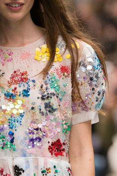 Image result for Ashish 'Sprinkle' sequin embroidered dress