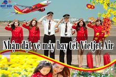 Chuyên nhận đặt vé máy bay tết Vietjet Air đường Cách mạng tháng 8