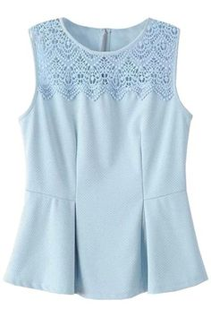 classic-cute-lace-paneled-blouse - #blusademujer #mujerblusa #blusa #blouse @blouse