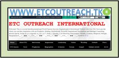 ETC OUTREACH is a social/interdenominational World Famous Success, Inspirational & Motivational Website - Over 50k  Views per day - www.etcoutreach.tk