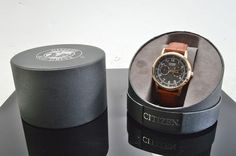 Citizen Eco-Drive 8635- S079784 Mens Analog Watch, Leather Band, w/ Case (V3061)