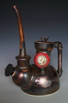 Steampunk teapot by timseeclay