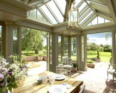 Beautiful conservatory from Southern Accents.