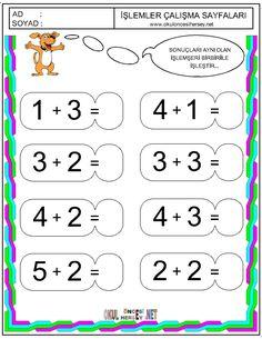 okul öncesi matematik çalışma sayfaları - Google'da Ara