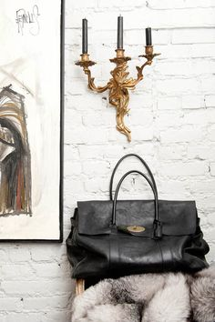 Mulberry Bayswater in Black