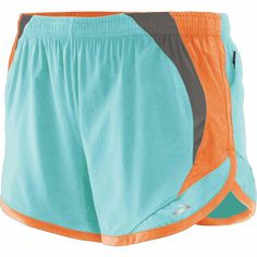 Women's running shorts with pockets: Brooks Infiniti Short II! Love these colors and they are so lightweight