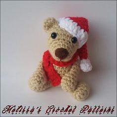 Baby Christmas bear