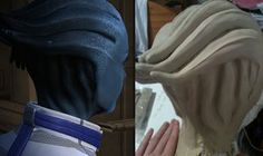 How to make an Asari headpiece (Mass Effect cosplay) by Vovea