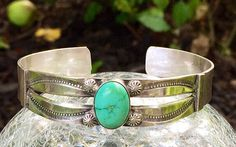 Old Pawn Navajo Cuff Bracelet  Cuff Bracelets by sugardrawers