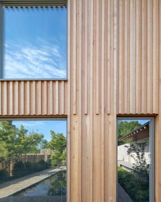 Wood Cladding Exterior, Roof Cladding, Cladding Design, House Cladding, Wood Facade, Timber Cladding, Facade Design, House Design, Architectural Design Studio