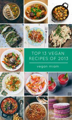 Top 13 Vegan Eats and Recipes of 2013