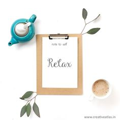 Happy Friday Take time to relax and rejuvenate this weekend with some tea or your favorite drink  Inspirational Quotes | Motivational Quotes  #Friyay #weekendvibes #etsyseller #graphicdesigner