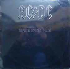 Ac Dc Back In Black 1980 Portugal Issue Rare Vinyl Record Lp Album