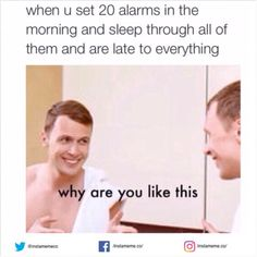Why am I like this? I don't know!   #sleep #alarm #lazy #proud #instameme