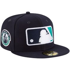 "MLB Cap New Era 9Fifty San Diego Padres /""League Pop/"" Snapback Hat Dark Navy"