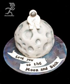 Happy Birthday Mum ... I love you to the Moon & Back - by Ciccio @ CakesDecor.com - cake decorating website