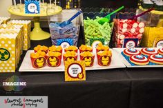 Leo's Avengers Birthday Party | CatchMyParty.com