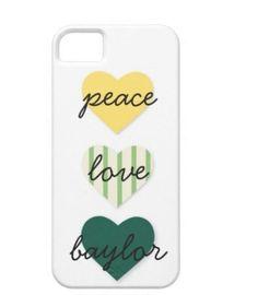 cute Baylor iPhone case