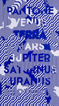 Platone, vebus, terra, mars, jupiter, saturnus, uranus, neptunus. Design Graphique, Art Graphique, Graphic Design Typography, Graphic Art, Pantone, Inspiration Artistique, Typographic Poster, Graphic Patterns, Grafik Design