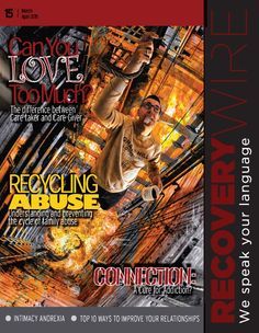 Recycling Abuse  Featured in the March/April 2015 issue of Recovery Wire Magazine, Cruse discusses the connection abuse and disorder can often share. http://issuu.com/recoverwire/docs/issue_15-single?e=10885101/11698490