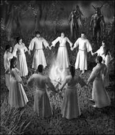 wicca pagan Full Moon Ritual from my own bos