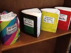 Journal Wizard: interactive notebooks - LOVE the pocket idea for new concepts!