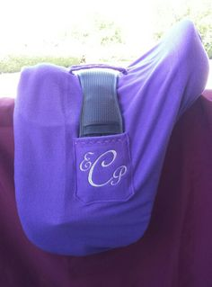 Dressage Saddle Cover with Handy Girth Pockets