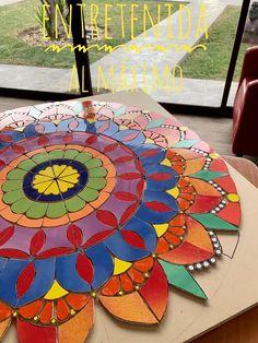 Glass Painting Patterns, Mosaic Pictures, Mosaic Projects, Window Art, Mandala Design, Beach Mat, Decoupage, Outdoor Blanket, Asd