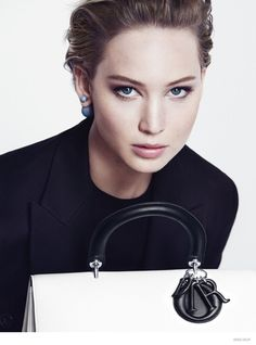 Jennifer Lawrence for Miss Dior Fall/Winter 2014