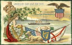 United By Our Love For Erin To Greet You On St. Patrick's Day Philco Series 3324